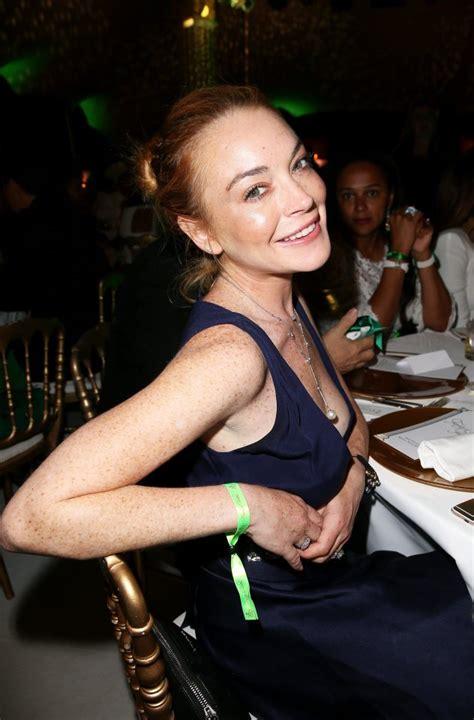 Lohan Nip Slip by Up Peek A Boo Lindsay Lohan Suffers