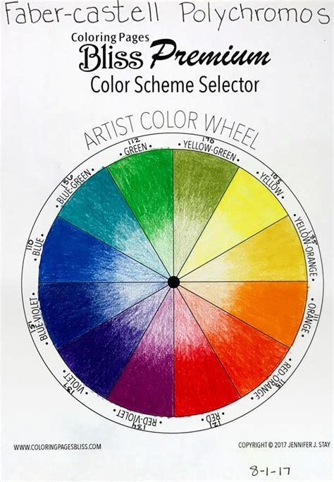 color scheme selector color wheel tri tone sets worksheets