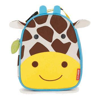 Bag Animal Giraffe skip hop zoo lunchies bag free shipping