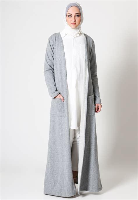 Dress Aida Lengan Panjang Kerudung kepoin model baju gamis pesta cocok untuk muslimah