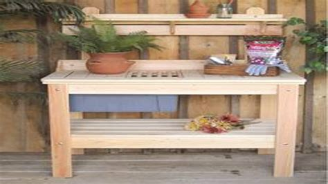 Garden Potting Bench Ideas Ideas Garden Potting Bench Plans Potting Bench With Sink Potting Stands Outdoor