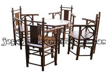 Kursi Bambu Ruang Tamu kursi tamu bambu 100 jati harga murah kualitas mewah jual mebel jepara