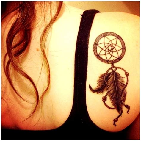 45 Amazing Dreamcatcher Tattoos And Meanings Dreamcatcher Tattoos For On Side 2