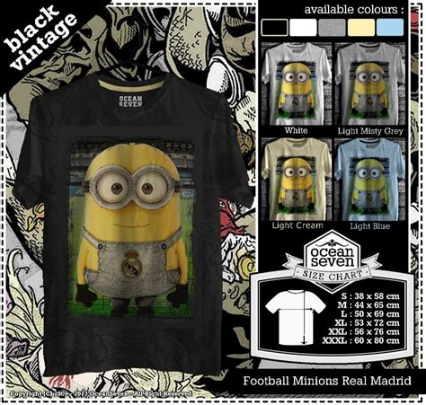 Kaos Minion Series 2 Cr kaos football minions real madrid diztro shop