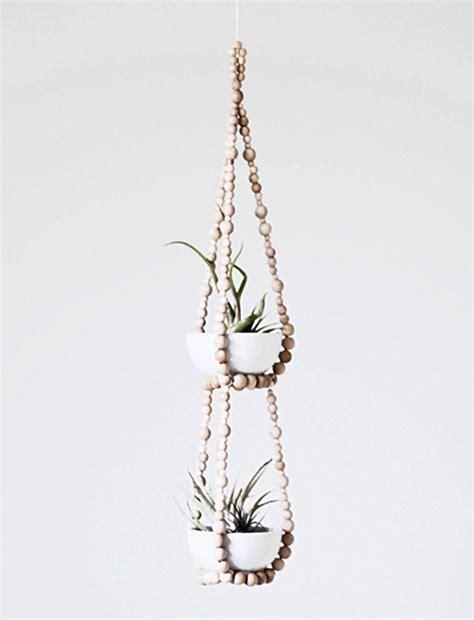 Beaded Plant Hangers - beaded plant hanger design sponge