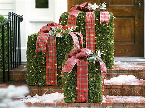 outdoor outdoor christmas decorations diy southern