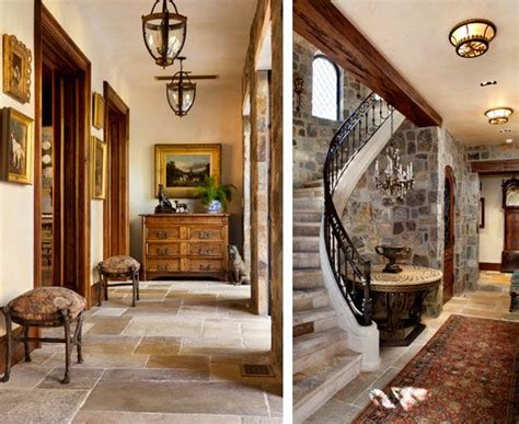 tudor home interior stunning entries love the stone walls and floor with rich