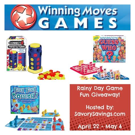 Game Day Giveaways - rainy day game fun giveaway 05 06 tales from a southern mom