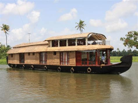 house boat at kollam delux 5 beds houseboat booking for 1 nights in kollam at