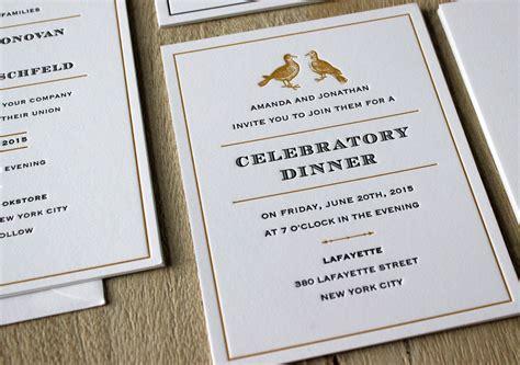 Wedding Invitations Nyc by Wedding Invitations Nyc Gangcraft Net