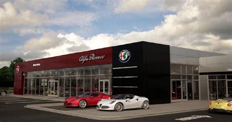 Alfa Romeo Dealership by Three Phase Development And Expansion Planned For Lansing