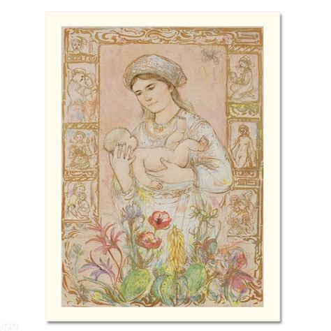Gamis Raaqouela edna hibel quot raquela quot limited edition lithograph numbered and signed with certificate