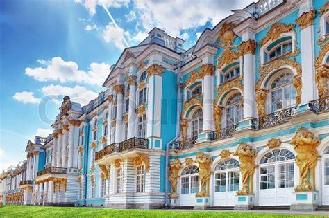 kates palace katherine s palace hall in tsarskoe selo pushkin stock