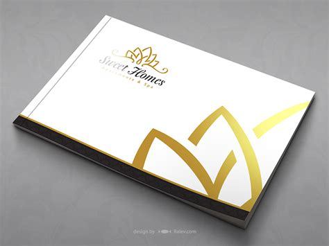 catalog covers sweethomes catalog cover ralev logo brand design
