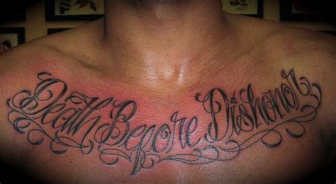 death before dishonor tattoo regeneration before dishonor