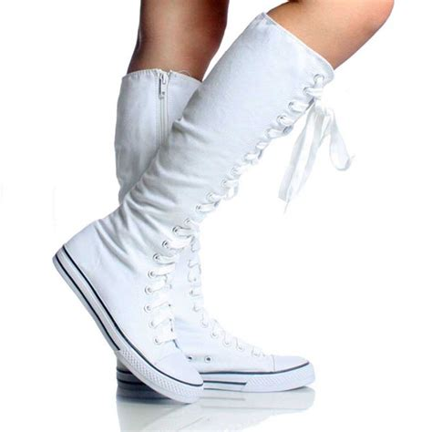 converse shoes for knee high 27 best knee high converse want images on