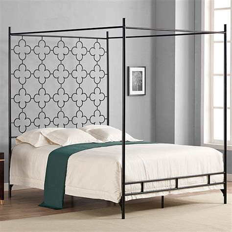 Overstock Headboards by Quatrafoil Canopy Bed Beds By