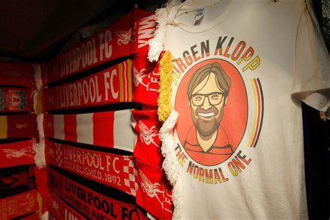 Liverpool Tshirt Distro Hes Back in a year jurgen klopp has taken liverpool back to where they should be now he has to finish