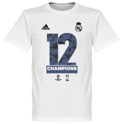 Tshirt Real Madrid Undecima adidas official real madrid chions league winners t shirt