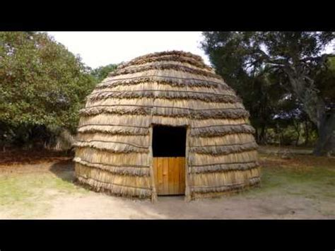 cherokee indian houses indian homes creek cherokee youtube