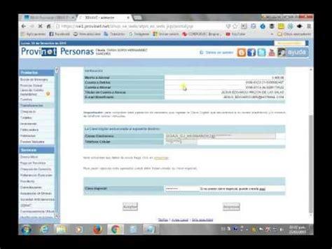 www banco provincial como hacer una transferencia en el provinet banco