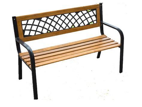 3 seater metal garden bench new 3 seater bench outdoor garden metal wood slatted