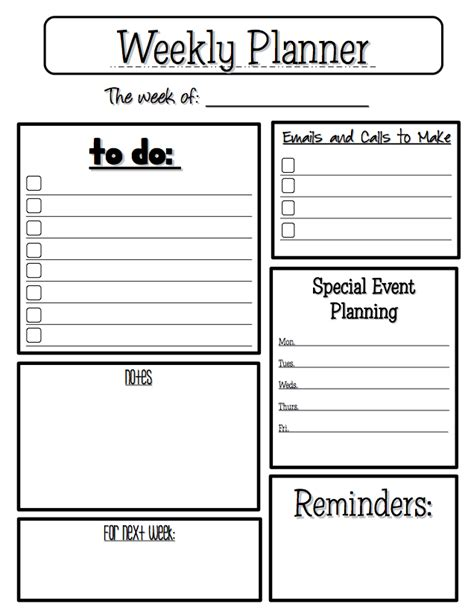 teachers planner template free misc lesson weekly planner go to the best of