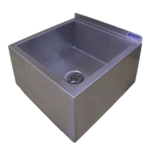 floor mounted mop sink griffin products um series 23x23 stainless steel floor