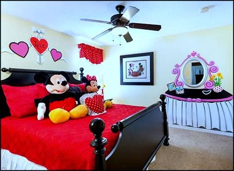 decorate with mickey mouse bedroom ideas