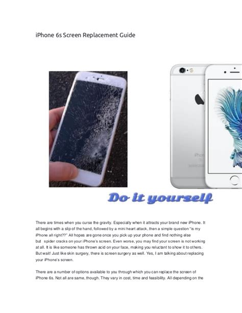 iphone  screen replacement guide