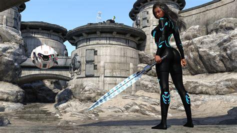 Future Warrior future warrior sword robot desert desktop