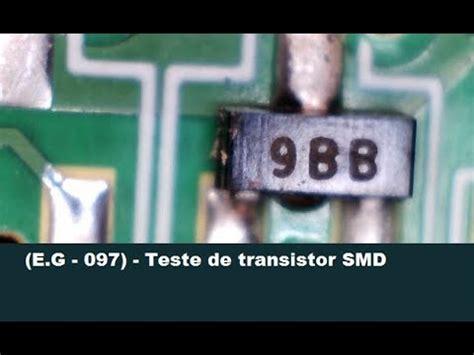 teste de transistor smd youtube