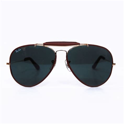 Kacamata Fashion Outdoor Raybann Aviator vintage ban b l leathers sunglasses aviators by raybanicos