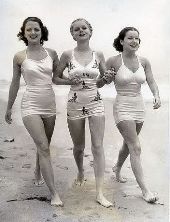 1930s swimsuits  pictures and history