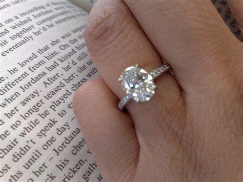 Goldene Verlobungsringe by Die Besten 25 Wedding Rings Solitaire Ideen Auf