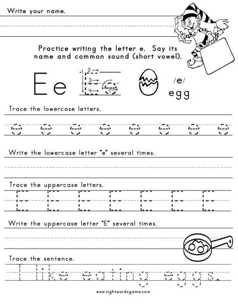 kindergarten activities letter e 9 best images about letter e pre k on pinterest alphabet