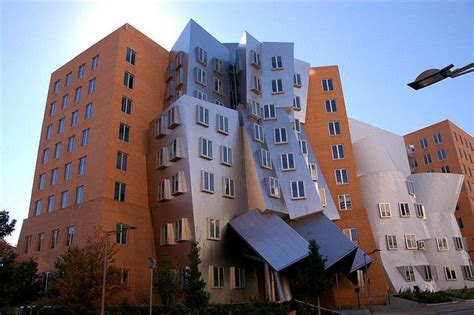 frank gehry möbelkollektion frank gehry building at mit in cambridge massachusetts
