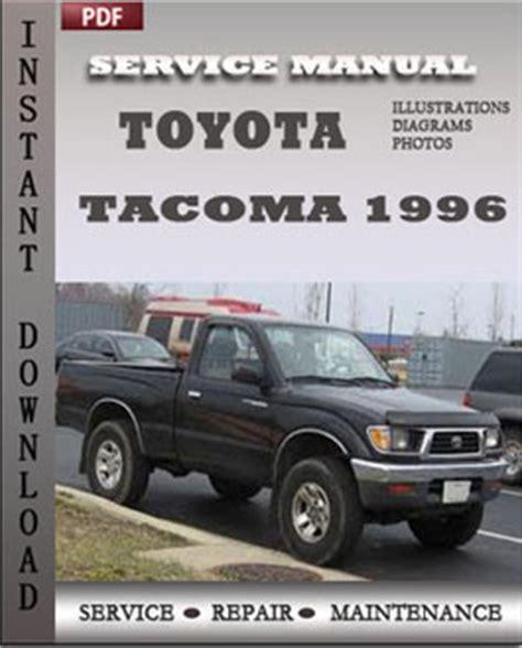 1996 Toyota Tacoma Manual Toyota Tacoma 1996 Service Repair