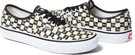 Harga Vans Era X Supreme supreme vans checkerboard sole collector