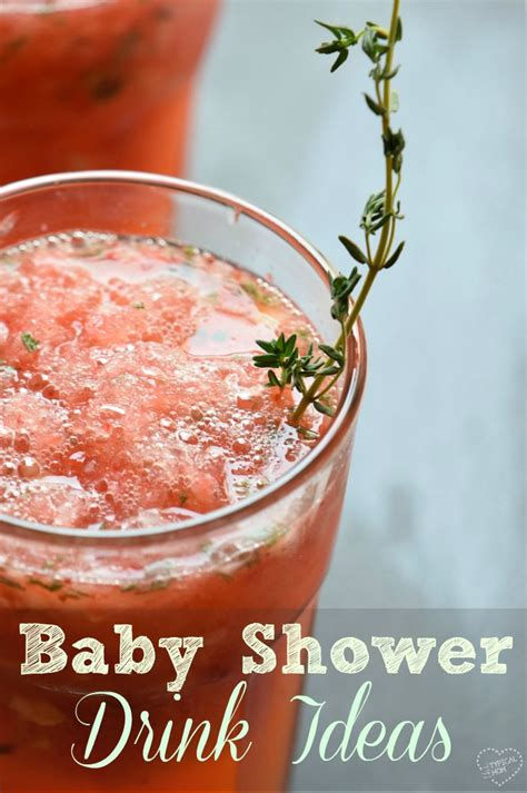 Recipes For A Baby Shower by The Best Baby Shower Drinks 183 The Typical