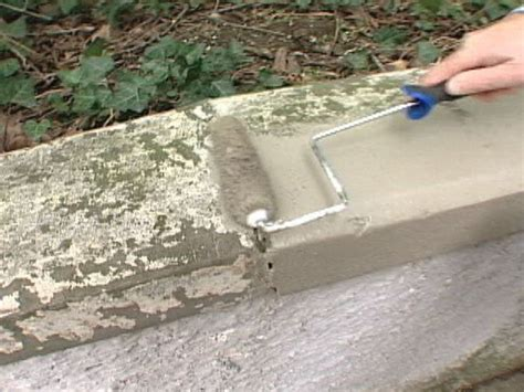 how to paint exterior concrete how to patch masonry walls how tos diy
