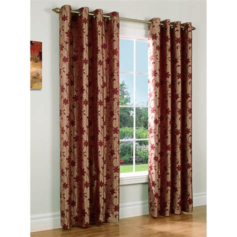 habitat curtains habitat chateau embroidered chenille curtains 108x72
