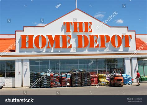 etobicoke canada july 24 home depot stock photo 161605214