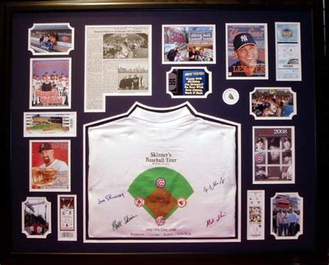 gifts for sports fans sports framing