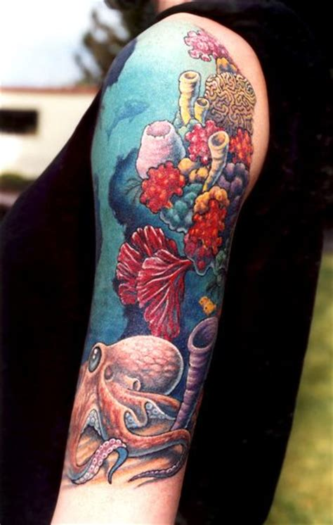 coral tattoo 25 best ideas about sleeve tattoos on