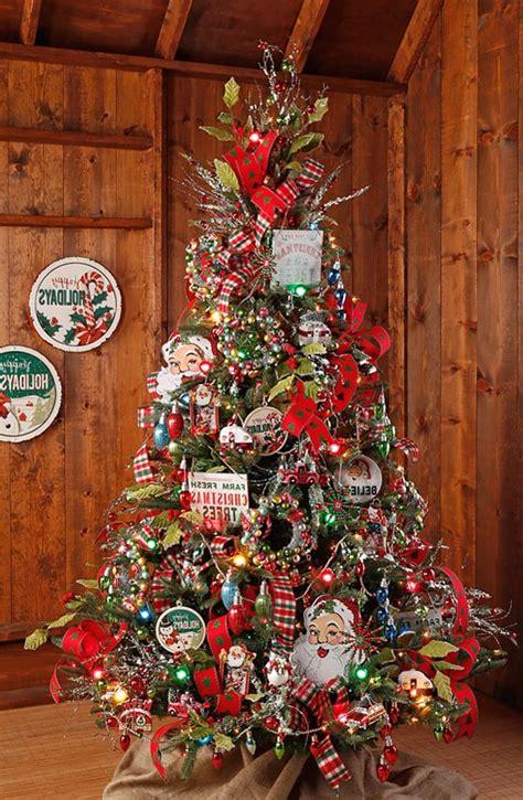 arboles de navidad decorados 2017 2018 80 fotos y