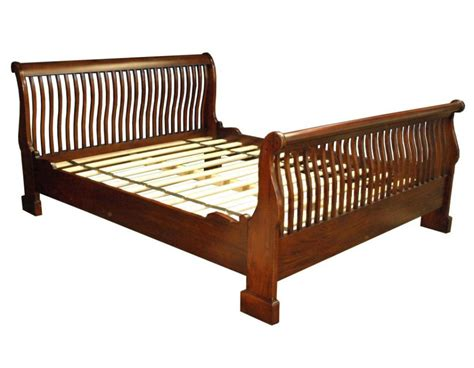 Mahogany Sleigh Bed Rail Sleigh Bed Akd Furniture