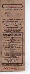Which Wich Ordering Bag » Home Design 2017