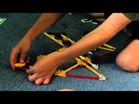how to make a knex boat how to make a knex sail boat youtube