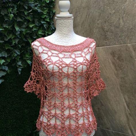 blusas de gancho m 225 s de 1000 im 225 genes sobre crochet blusas en pinterest